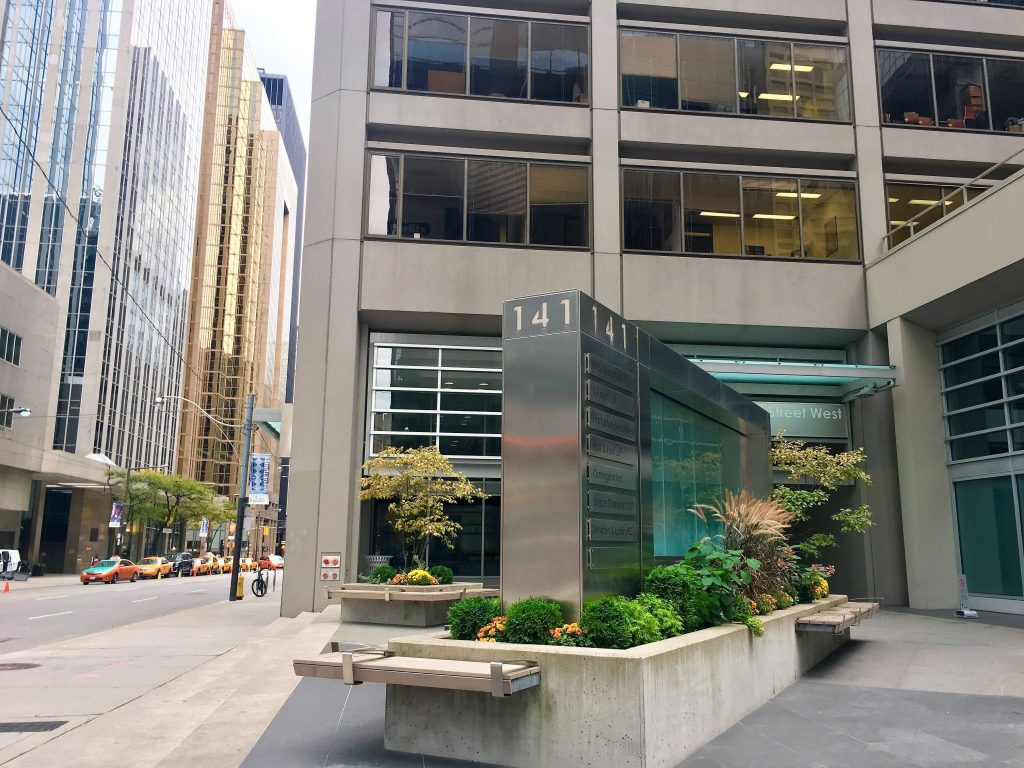 Summit Travel Health Downtown Toronto building