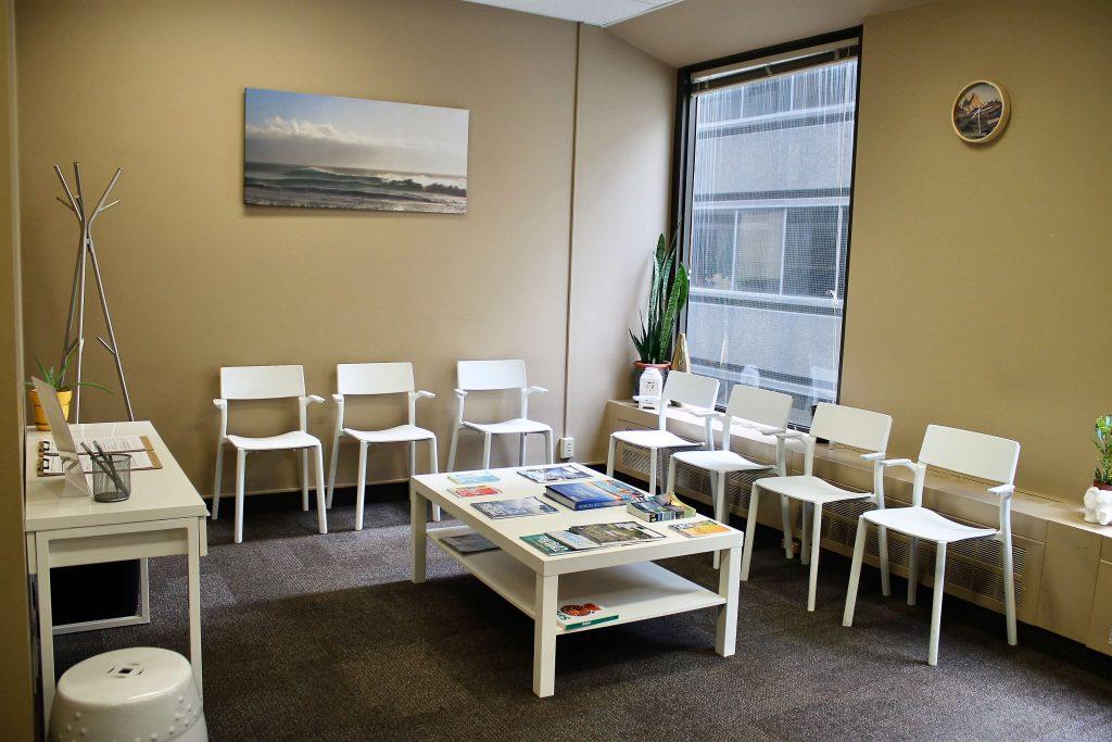 Summit Travel Health Downtown Toronto lobby